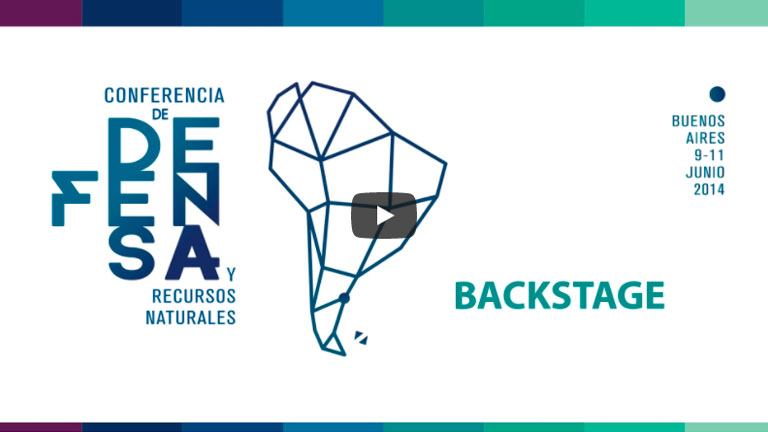 Streaming Backstage – Conferencia de Defensa y Recursos Naturales