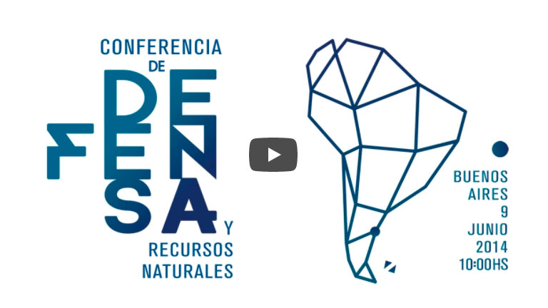Conferencia de Defensa y Recursos Naturales – UNASUR