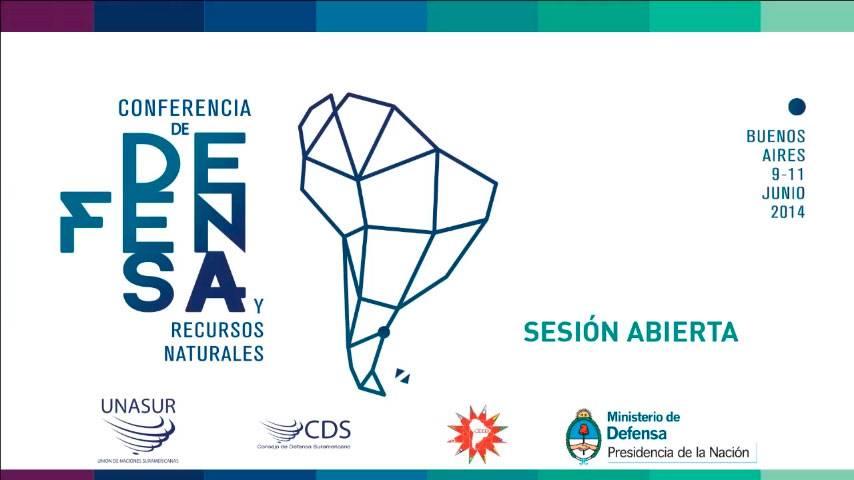 Conferencia de Defensa y Recursos Naturales – UNASUR
