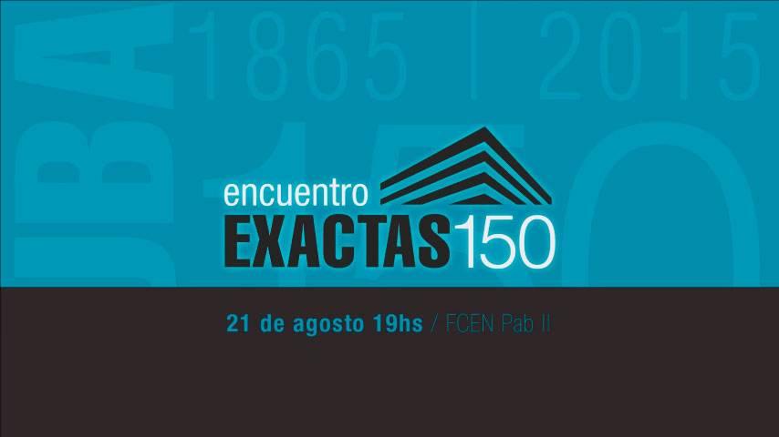 Encuentro Exactas 150