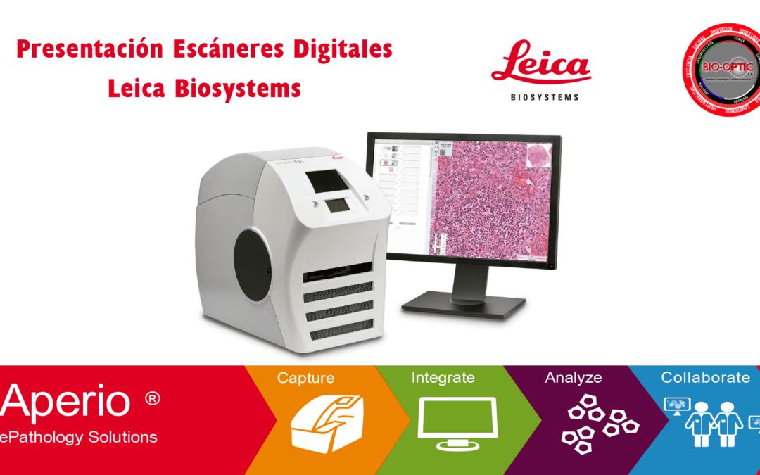 Presentación Escáneres Digitales Leica Biosystems