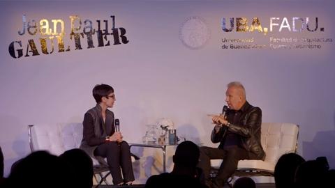 Masterclass de Jean Paul Gaultier en UBA