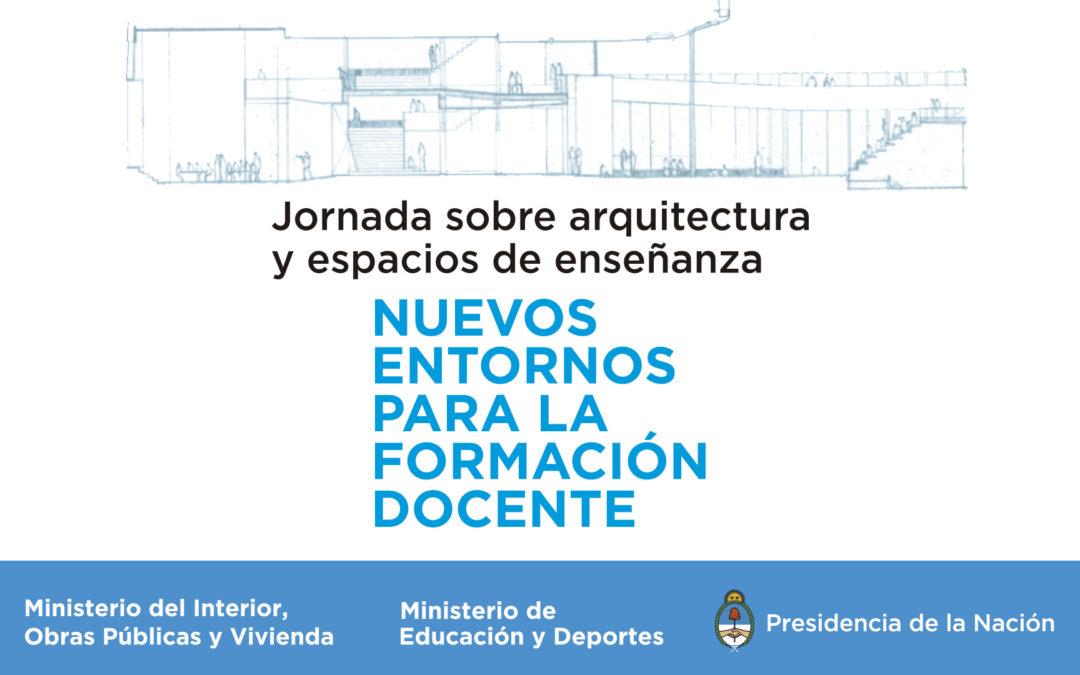 Jornada sobre Arquitectura y Espacios de Enseñanza