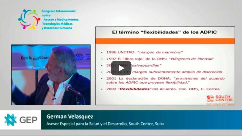 Congreso Internacional sobre acceso a Medicamentos, Tecnologías Médicas y DDHH – Jornada 2