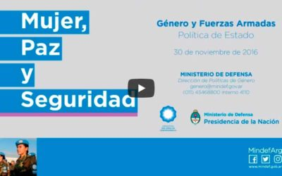 Jornada en el Ministerio de Defensa – Política de Estado sobre Género y Fuerzas Armadas