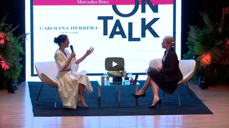 4° Edición de Mercedes Benz Fashion Talk en Buenos Aires junto a Carolina Herrera de Báez