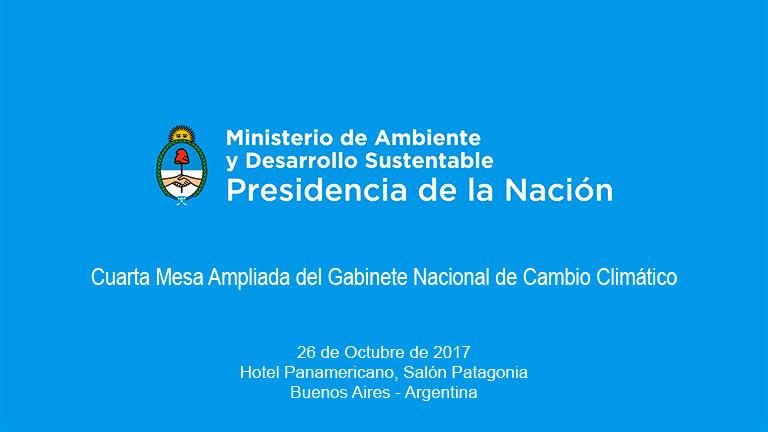 Cuarta mesa ampliada del gabinete nacional de cambio for Ministerio del interior argentina